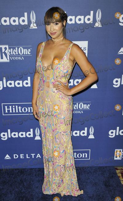 Jackie Cruz Photo - Photo by Patricia SchleinstarmaxinccomSTAR MAX2016ALL RIGHTS RESERVEDTelephoneFax (212) 995-119651416Jackie Cruz at The GLAAD Media Awards(NYC)