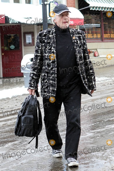 Rutger Hauer Photo - Rutger Hauer out on Main Street during the Sundance Film Festival Park City UT 01252011