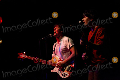 The Beatles Photo - LINDAU BAVARIA - JUNE 16 The Cavern Beatles - Paul McCartney and George Harrsion double