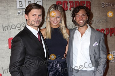 Kyle Schmid Photo - Tom Weston-jones Anastasia Griffith and Kyle Schmid Arriving at the Premiere of Bbc Americas Copper at the Museum of Modern Art in New York City on 08-15-2012 Photo by Henry Mcgee-Globe Photos Inc 2012