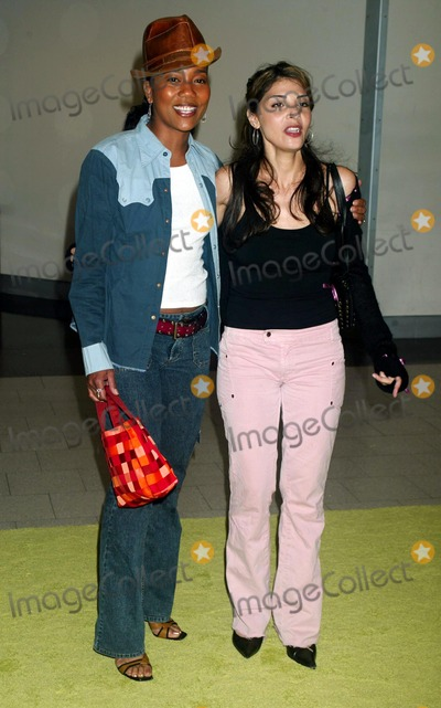 Callie Thorne Photo - Sonja Sohn with Callie Thorne at the 6th Season Premiere of Sex and the City at American Museum of Natural History in New York City on June 18 2003 Photo Henry McgeeGlobe Photos Inc 2003