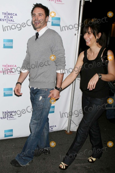 Al Santos Photo - AL Santos and Callie Thorne Arriving at the Tribeca Film Festival Premiere of Killer Movie at Amc 19th Street in New York City on 04-24-2008 Photo by Henry McgeeGlobe Photos Inc 2008