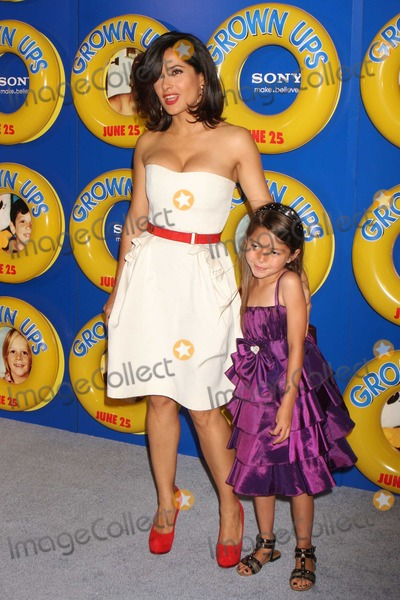 Alexys Nycole-Sanchez Photo - New York NY 06-23-2010Salma Hayek and Alexys Nycole Sanchez at a screening of Columbia Pictures GROWN UPS at the Ziegfeld TheaterDigital photo by Lane Ericcson-PHOTOlinknet