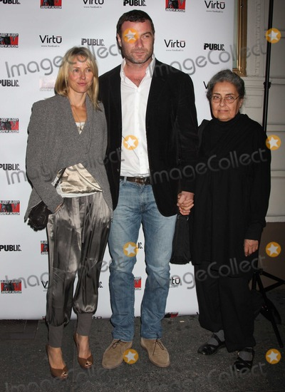 Andrew Jackson Photo - NYC  101310Naomi Watts and Liev Schreiber with his mother at opening night of Bloody Bloody Andrew Jackson on Broadway at the Bernard B Jacobs TheatrePhoto by Adam Nemser-PHOTOlinknet