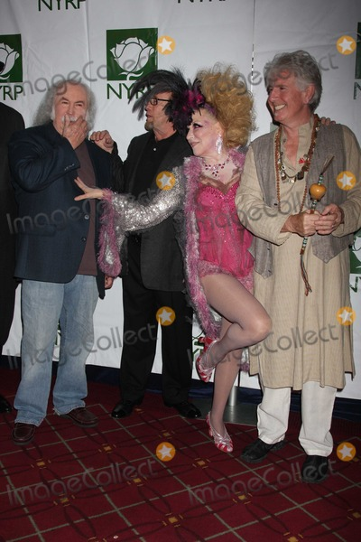 Bette Midler Photo - Crosby Stills Nash Midler8428JPGNYC  103009Bette Midler (dressed as a Showghoul) with David Crosby Stephen Stills and Graham Nash at Bette Midlers annual HULAWEEN Gala supporting New York Restoration Project at the Waldorf AstoriaDigital Photo by Adam Nemser-PHOTOlinknet