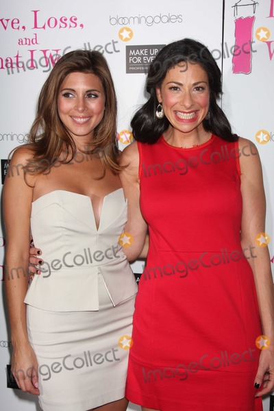 Stacy London Photo - NYC  090210New cast members Jamie-Lynn Sigler and Stacy London at the party to celebrate the new cast of the Off-Broadway play Love Loss and What I Wore at 44 12Photo by Adam Nemser-PHOTOlinknet