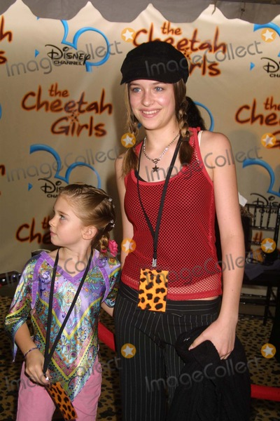 CHEETAHS GIRLS Photo - NYC  080503Stella and Dakota (l-r) daughters of Melanie Griffith and Antonio Banderes at the premiere of the new Disney Channel Original Movie THE CHEETAH GIRLS at LaGuardia High SchoolDigital Photo by Adam NemserPHOTOlink