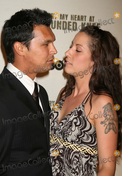 Adam Beach Photo - Adam_Beach_wife5457JPGNYC  052307Adam Beach and wife Tara premiere of his new movie BURY MY HEART AT WOUNDED KNEE at the American Museum of Natural HistoryDigital Photo by Adam Nemser-PHOTOlinknet