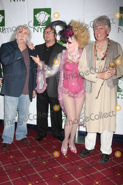 Bette Midler Photo - Crosby Stills Nash Midler8429JPGNYC  103009Bette Midler (dressed as a Showghoul) with David Crosby Stephen Stills and Graham Nash at Bette Midlers annual HULAWEEN Gala supporting New York Restoration Project at the Waldorf AstoriaDigital Photo by Adam Nemser-PHOTOlinknet