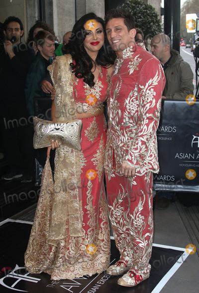 Alex Reid Photo - April 8 2016 - Alex Reid and Nikki Manashe attending The Asian Awards 2016 Grosvenor House Hotel in London UK