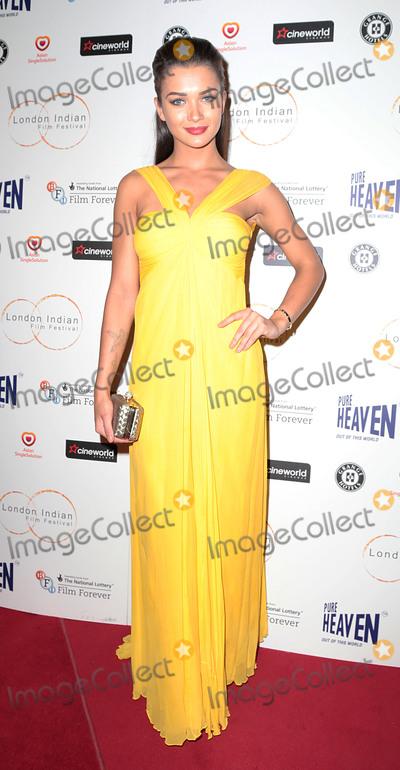 Amy Jackson Photo - Jul 10 2014 - London England UK - The London Indian Film Festival opening film Sold at Cineworld HaymarketPhoto Shows Amy Jackson