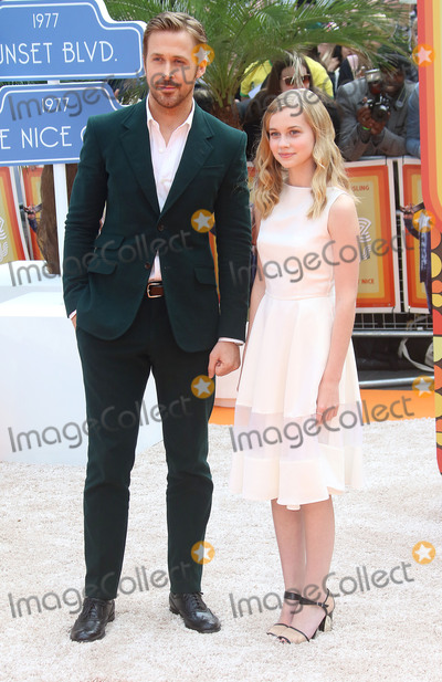 Angourie Rice Photo - May 19 2016 - Ryan Gosling and Angourie Rice attending UK Premiere of The Nice Guys at Odeon Leicester Square in London UK