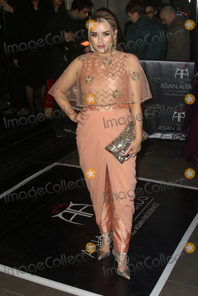 Amy Christophers Photo - April 8 2016 - Amy Christophers attending The Asian Awards 2016 Grosvenor House Hotel in London UK