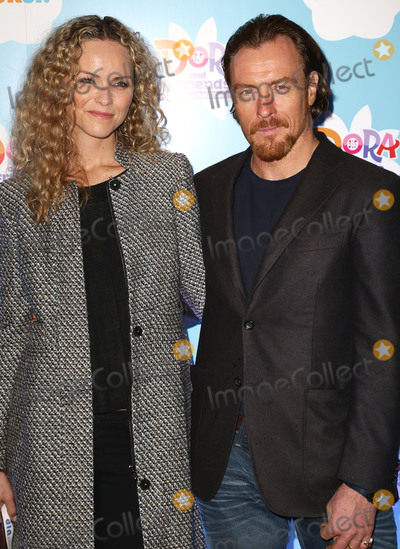 Anna-Louise Plowman Photo - Nov 02 2014 - London England UK - Dora and Friends Into the City UK Premiere Empire Leicester SquarePhoto Shows Anna-Louise Plowman and Toby Stephens