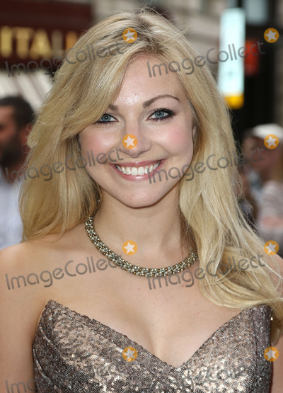 Anna Johnson Photo - July 20 2015 - Anna Johnson attending the Press Night for Frank Sinatra The Man and His Music at the Palladium London UK