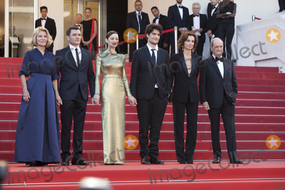 Alex Brendemuhl Photo - CANNES FRANCE - MAY 15 Nicole Garcia Alex Brendemuhl Marion Cotillard and Louis Garrel attends the From The Land Of The Moon (Mal De Pierres) premiere during the 69th annual Cannes Film Festival at the Palais des Festivals on May 15 2016 in Cannes France(Photo by Laurent KoffelImageCollectcom)