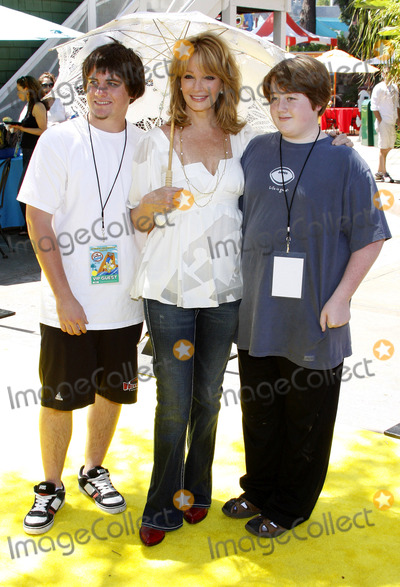 Deidre Hall Photo - Deidre Hall and her sons attend the Simpsons Ride Opening Celebration Party held at the Universal Studios Hollywood in Universal City California United States on May 17 2008 Copyright 2007-2008 by Popular Images