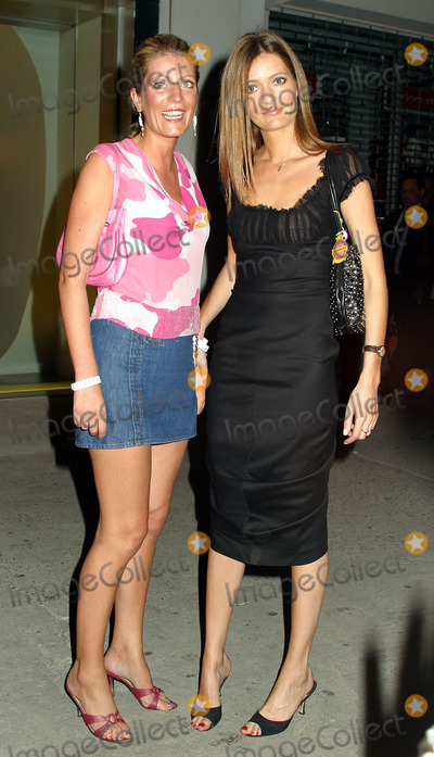 Alice Sykes Photo - Sisters PLUM and ALICE SYKES at Alexander McQueen New York store opening in New Yorks Meatpacking District September 5 2002