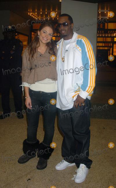 Menudo Photo - Maria Menudos and Sean Diddy Combs visits MTVs TRL studio
