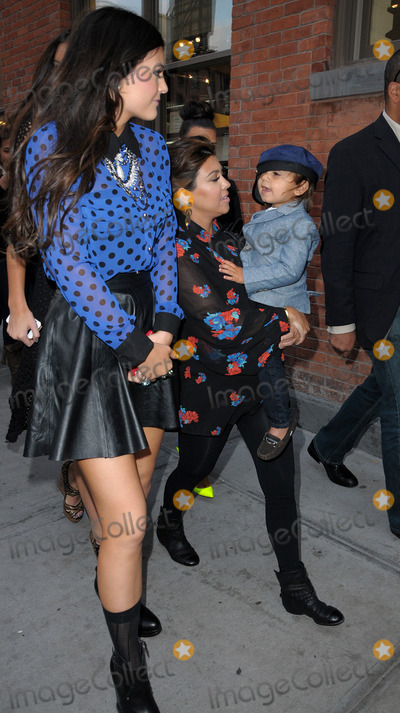 KYLIE KARDASHIAN Photo - April 24 2012 New York CityKourtney Kardashian takes her son Mason for a walk in the Meatpacking District on April 24 2012 in New York City