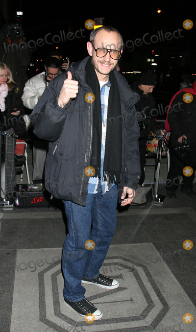 Terry Richardson Photo - Terry Richardson arriving at a Chanel party for Vanessa Paradis and Rouge COCO at the Mark hotel on February 9 2010 in New York City