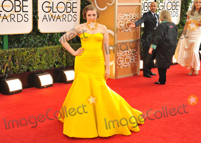 Lena Dunham Photo - Janaury 12 2014 LALena Dunham arriving at the 71st Annual Golden Globe Awards held at The Beverly Hilton Hotel on January 12 2014 in Beverly Hills California