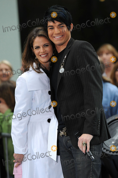 Natalie Morales Photo - Today Show anchor Natalie Morales and American Idol runner-up Adam Lambert performed live on NBCs Today show at the Rockefeller Plaza on May 28 2009 in New York City