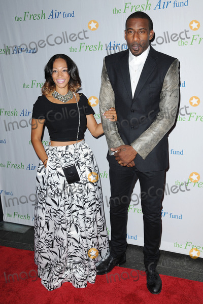 Amare Stoudemire Photo - May 29 2014 New York CityAmare Stoudemire and Alexis Welch attending The Fresh Air Fund salute to Our American Hero Global Superstar Mariah Carey on May 29 2014 in New York City