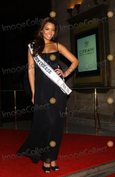 Zuleyka Rivera Photo - Miss Universe Zuleyka Rivera arrives at the AmfAR New York City Gala honoring John Demsey Whoopi Goldberg and Bill Roedy at Cipriani