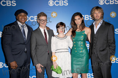 LL Cool J Photo - May 16 2012 New York City LL Cool J Barrett Foa Renee Felice Smith Daniela Ruah and Eric Christian Olsen attend the 2012 CBS Upfronts at The Tent at Lincoln Center on May 16 2012 in New York Cityon May 16 2012  in New York City