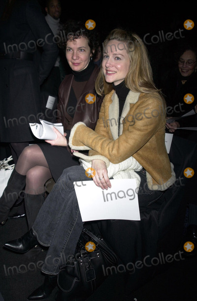 Anne Klein Photo - Actress Laura Linney at the Anne Klein 2003 Fall Fashion Show at Bryant Park New York February 11 2003