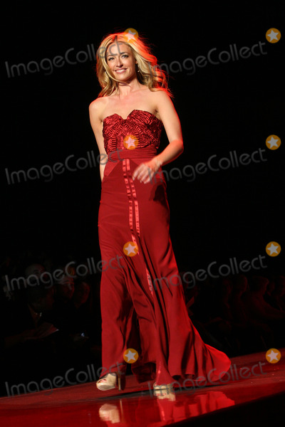 Alberta Ferretti Photo - Cat Deeley wearing Alberta Ferretti walks the runway for the The Heart Truths Red Dress Collection fashion show during Mercedes-Benz Fashion Week Fall 2011 at Lincoln Center on February 9 2011 in New York City
