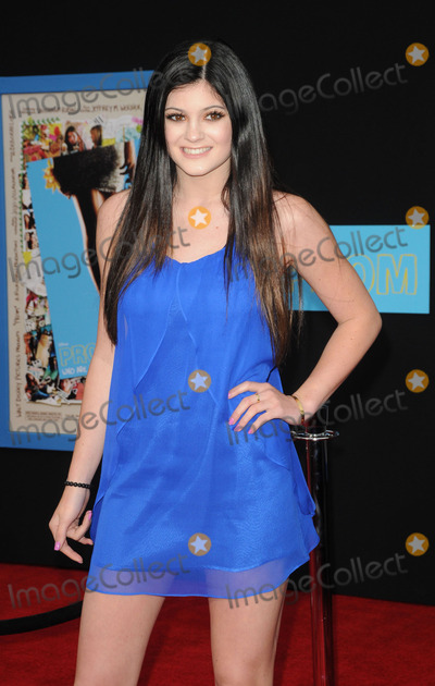 KYLIE KARDASHIAN Photo - Television personality Kylie Kardashian arriving at the premiere of Walt Disney Pictures Prom at the El Capitan on April 21 2011 in Los Angeles CA