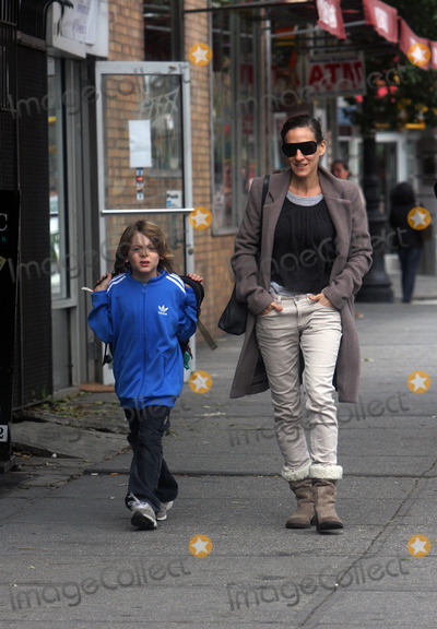Jessica James Photo - Actress Sarah Jessica Parker walks her son James home from school on October 21 2011 in New York City