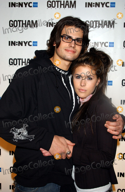 AJ Lamas Photo - New York November 17 2004 AJ Lamas and Dakota Pike at Gotham Magazines 5th Anniversary Party