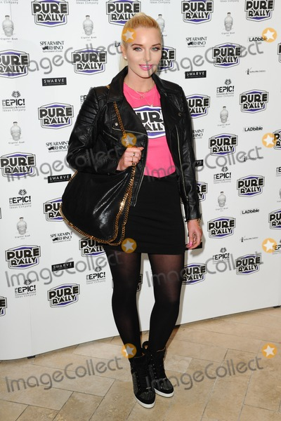 Helen Flanagan Photo - Helen Flanagan arrives for the launch of Pure Rally at the Millennium Hotel Grosvenor Square London 23012014 Picture by Steve Vas  Featureflash
