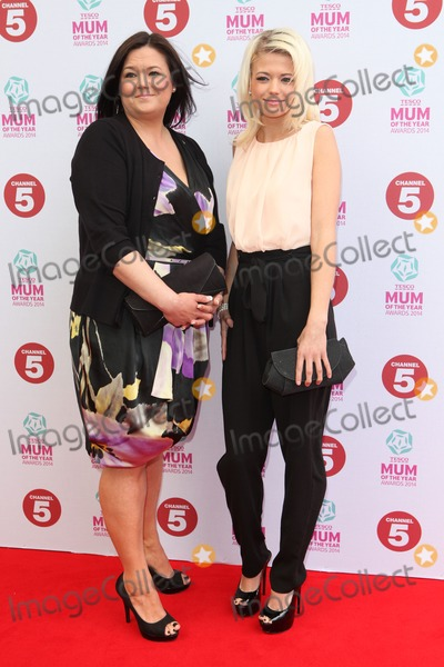 Danielle Harold Photo - Danielle Harold and Mother arriving at the Tesco Mum Of The Year Awards 2014 at The Savoy London 23022014 Picture by Alexandra Glen  Featureflash