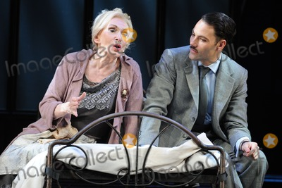 Sian Phillips Photo - Sian Phillips as Fraulien Schneider and Matt Rawle as Clifford Bradshaw in Cabaret  at the Savoy Theatre London 08102012 Picture by Steve Vas  Featureflash