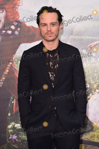 Andrew Scott Photo - Andrew Scott at the premiere of Alice Through the Looking Glass at the Odeon Leicester Square LondonMay 10 2016  London UKPicture Steve Vas  Featureflash