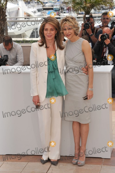 Queen Noor of Jordan Photo - Queen Noor of Jordan (left)  Meg Ryan at photocall for Countdown to Zero at the 63rd Festival de CannesMay 16 2010  Cannes FrancePicture Paul Smith  Featureflash