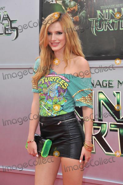 Bella Thorne Photo - Bella Thorne at the premiere of Teenage Mutant Ninja Turtles at the Regency Village Theatre WestwoodAugust 3 2014  Los Angeles CAPicture Paul Smith  Featureflash
