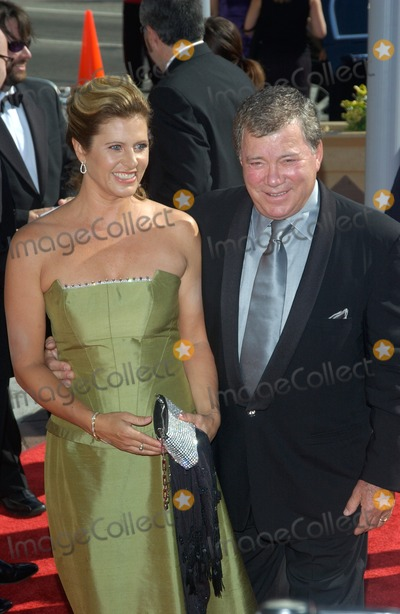 William Shatner Photo - Actor WILLIAM SHATNER  wife ELIZABETH at the 2004 Primetime Creative Arts Emmy Awards at the Shrine Auditorium Los AngelesSeptember 12 2004