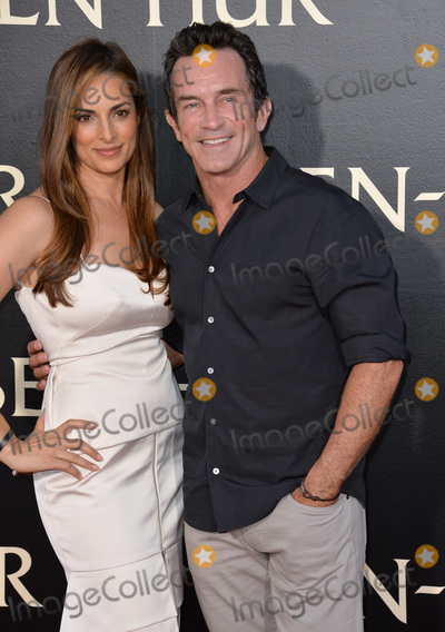 Ann Russell Photo - LOS ANGELES CA August 16 2016 Survivor host Jeff Probst  wife Lisa Ann Russell at the Los Angeles premiere of Ben-Hur at the TCL Chinese Theatre Hollywood Picture Paul Smith  Featureflash