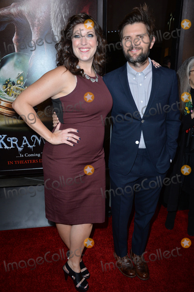 Allison Tolman Photo - Actors Adam Scott  Allison Tolman at the Los Angeles premiere of their movie Krampus at the Arclight Theatre HollywoodNovember 30 2015  Los Angeles CAPicture Paul Smith  Featureflash