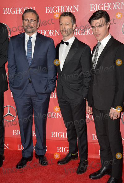 Steve Carell Photo - Actors Steve Carell Jeremy Strong  Finn Wittrock at the 2016 Palm Springs International Film Festival Awards Gala at the Palm Springs Convention CentreJanuary 2 2016  Palm Springs CAPicture Paul Smith  Featureflash