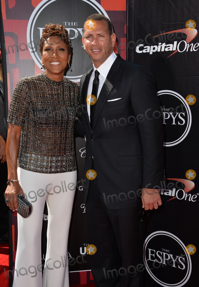 Alex Rodriguez Photo - Baseball star Alex Rodriguez  news anchor Robin Roberts at the 2015 ESPY Awards at the Microsoft Theatre LA LiveJuly 15 2015  Los Angeles CAPicture Paul Smith  Featureflash