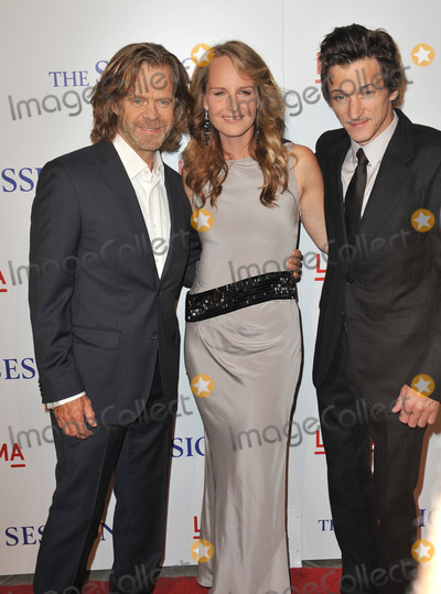 William H Macy Photo - William H Macy (left) Helen Hunt  John Hawkes at the premiere of their movie The Sessions at the LA County Museum of ArtOctober 10 2012  Los Angeles CAPicture Paul Smith  Featureflash