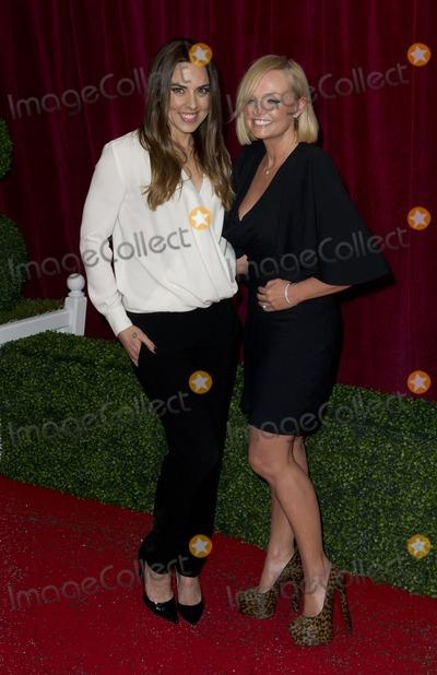 Emma Bunton Photo - Melanie C and Emma Bunton arriving for the 2012 British Soap Awards  LWT Southbank London28042012 Picture by Simon Burchell  Featureflash