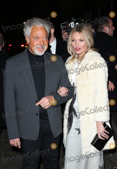 Tom Jones Photo - Tom Jones Kate Moss at Playboys 60th Anniversary Issue Party held at the Playboy club London 02122013 Picture by Henry Harris  Featureflash