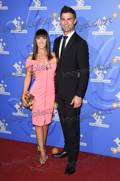 Aljaz Skorjanec Photo - Janette Manrara  Aljaz Skorjanec at The National Lottery Awards 2015 held at the London Studios September 11 2015  London UKPicture Steve Vas  Featureflash